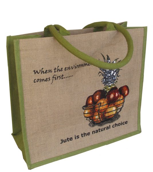 Large Heavy Duty Jute Shopper