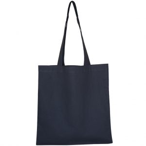 Large Cotton Tote in Black