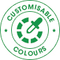 Customisable<br>Colours