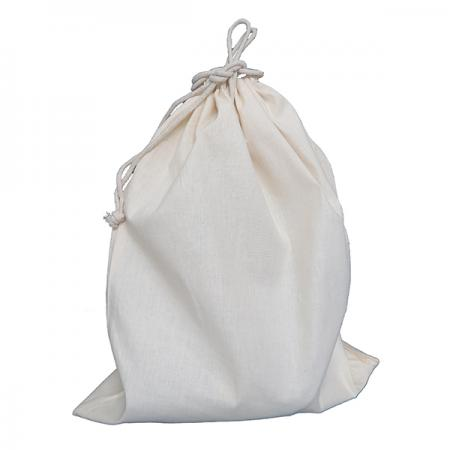 Large Cotton Drawstring Bag
